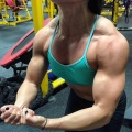 Girl with muscle - Jacqueline Trejos