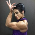 Girl with muscle - Sue Suharni