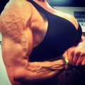 Girl with muscle - Dacy Simon