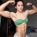 Girl with muscle - Sarita Rodriguez