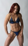 Girl with muscle - Quads