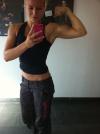 Girl with muscle - Linda Hageman