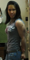 Girl with muscle - Dinh Tat