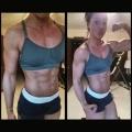 Girl with muscle - Tonya Hickey