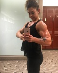 Girl with muscle - angela Palermo