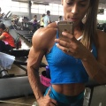 Girl with muscle - Dany Castilho