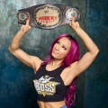 Girl with muscle - Sasha Banks