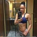 Girl with muscle - Breena Martinez