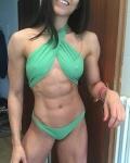 Girl with muscle - Renata Benigno