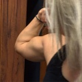 Girl with muscle - Elina Persson