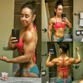 Girl with muscle - Megan Loraine Little