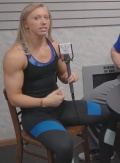 Girl with muscle - Kacey Stefan