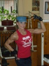 Girl with muscle - Gergana Savova