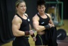 Girl with muscle - Petra Szebeni (L) Tunde Ster (R)