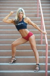 Girl with muscle - Holly Beck