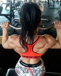 Girl with muscle - Karina Germano