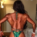 Girl with muscle - Caridad Sola