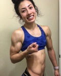 Girl with muscle - Carolynn Jacobs