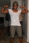 Girl with muscle - Tammi@bodyspace