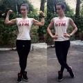 Girl with muscle - Marina Aksenova