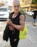 Girl with muscle - Lida Khoury Geagea