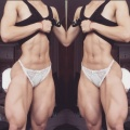 Girl with muscle - Bakhar Nabieva