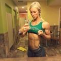 Girl with muscle - Krista Wharton