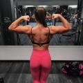 Girl with muscle - Sara Kinnvik