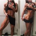 Girl with muscle - Oana Marinescu