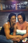 Girl with muscle - Lisa Moordigian, Tamara Merrell (r)