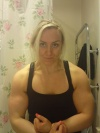 Girl with muscle - Sara Isaksson