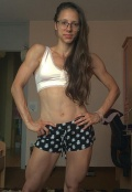 Girl with muscle - Aisa Krivec