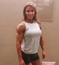 Girl with muscle - Kathy Garza