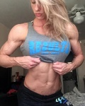 Girl with muscle - Stacey Cummings