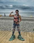 Girl with muscle - Irina Gladkaya