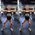 Girl with muscle - Caitlyn Terry