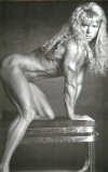 Girl with muscle - Heather Tristany