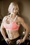 Girl with muscle - Charise Parker
