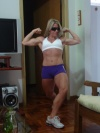 Girl with muscle - Adriane Costa