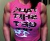 Girl with muscle - Gina Davis