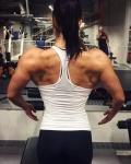 Girl with muscle - Henriikka Kemppinen