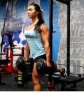 Girl with muscle - Brigitte Goudz
