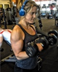 Girl with muscle - Morgan Lohse