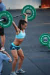 Girl with muscle - Camille Leblanc-Bazinet (xfit)