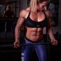Girl with muscle - Caroline Bovelet