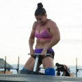 Girl with muscle - stella christoforou