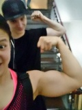 Girl with muscle - Carter Ayre