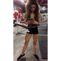 Girl with muscle - Serena Abweh