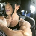 Girl with muscle - Kelsey Haas