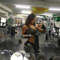 Girl with muscle - Yana Smith Kuznetsova
